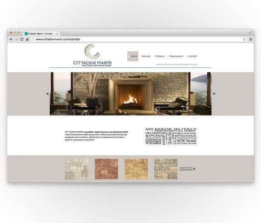 Realizzazione del #BrandSite per Cittadini #Marmi #Responsive.  #WebDesign #GraphicDesign #SEO