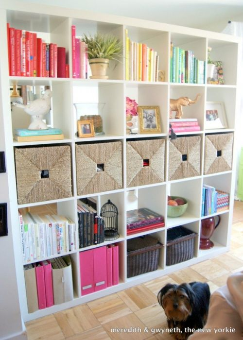 Inspired Whims Room Divider Curtain Another Book Sling: Dress Up Your Basic Ikea Shelf - Google Search