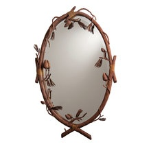 View the Kalco 870 Rustic / Country Wall Mirror From the Ponderosa Collection at LightingDirect.com.