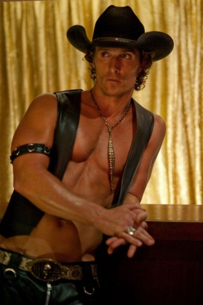 Even more Matthew McConaughey shirtless in 'Magic Mike.'