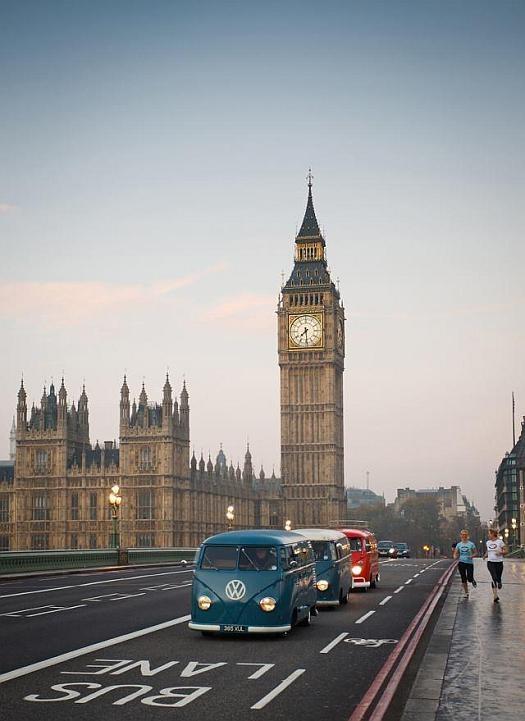 Volkswagen Kombi em Londres