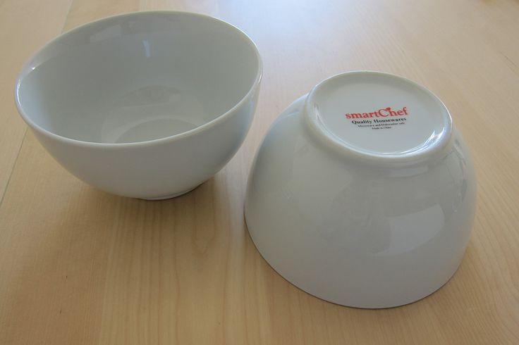 A set of 2 x Smart Chef bowls, a deeper set bowl compared to the white ikea ones we have. Great for saucy pastas. Slurp. Price: $1