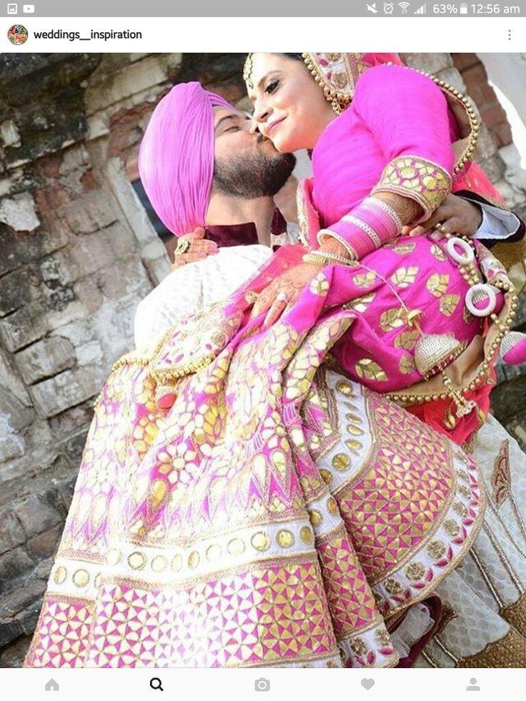 7 mejores imágenes de a en Pinterest | Boda sikh, Parejas de la boda ...