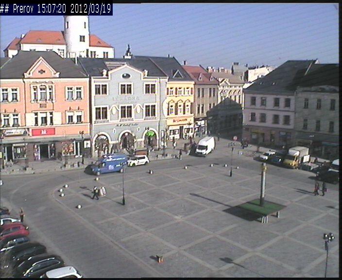 Pohled na náměstí T.G.M. 19.3.2012 - 15:06