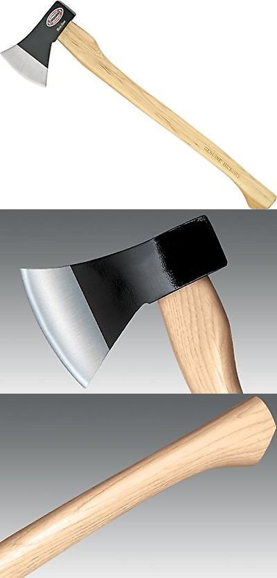 Camping Hatchets and Axes 75234: Cold Steel Trail Boss Hickory Handle -> BUY IT NOW ONLY: $39.69 on eBay!