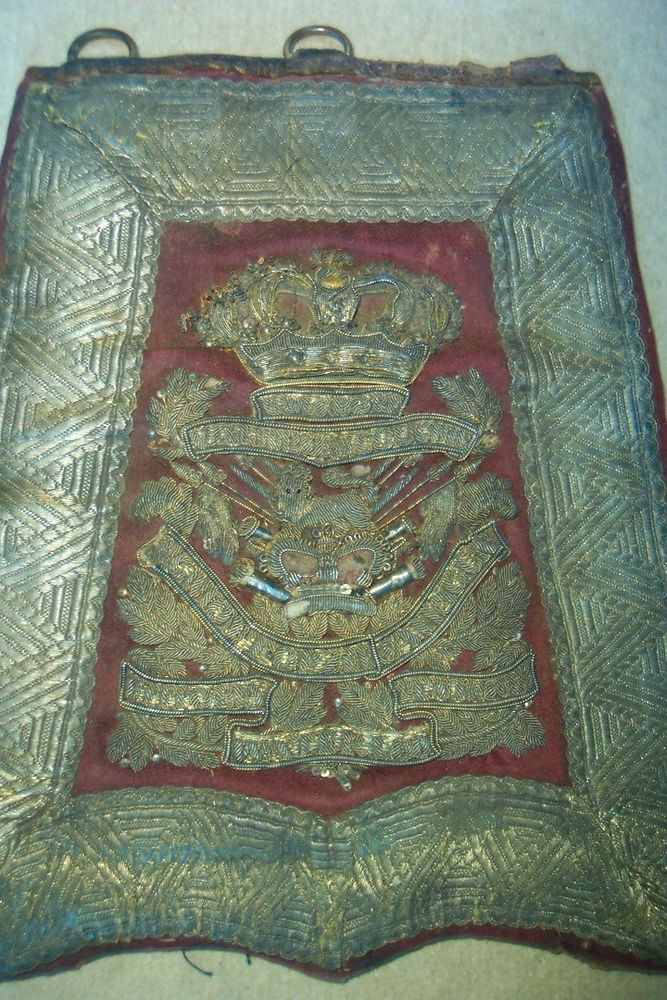 15th Hussars Officers Victorian Sabretache