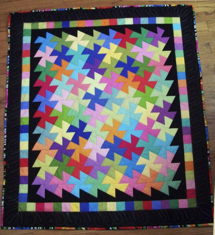 Lil Twister Quilt Pattern | Pointless Quilter: Vintage Postcard quilt and Lil Twister and....