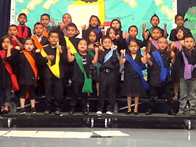 preschool performance songs kindergarten class performs true colors i would 673