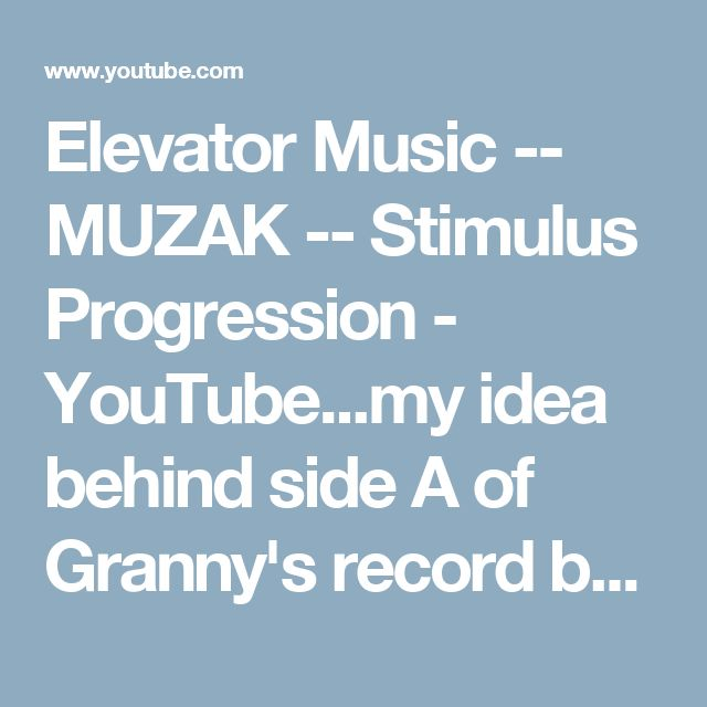 The 25+ best Elevator music ideas on Pinterest Play music now - elevator speech examples