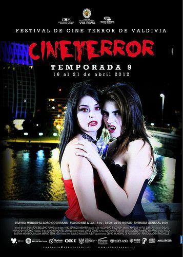 Afiche Festival de Cine Terror de Valdivia - 2012