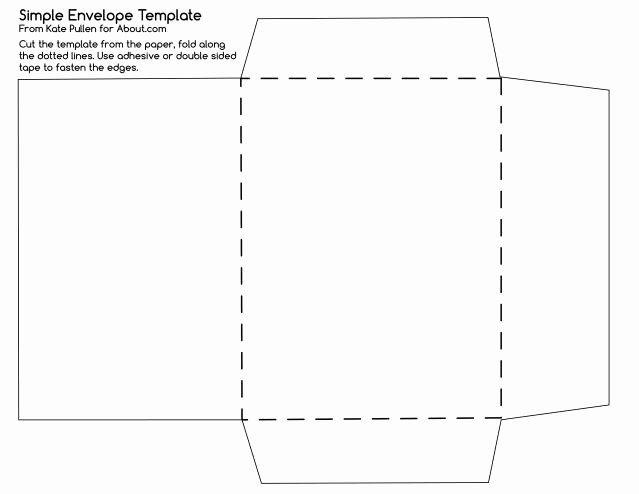 25 4 6 Envelope Template Word In 2020 Free Printable