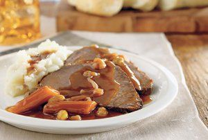 All Day German Pot Roast | AllFreeSlowCookerRecipes.com