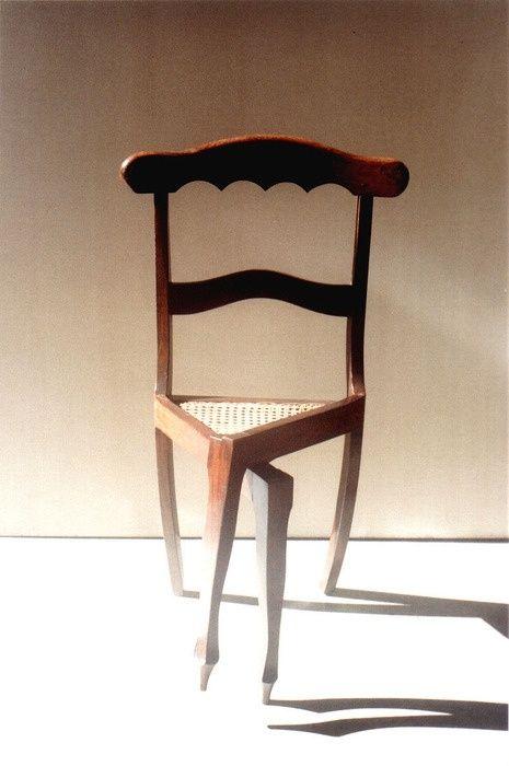crossed legs chair