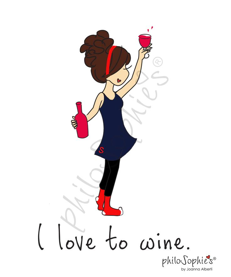 I love to wine!