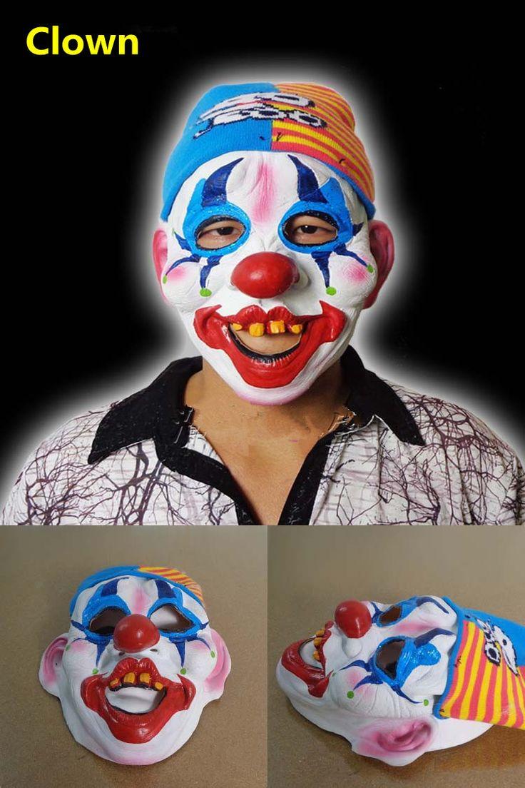 Косплей маска Джокера Хэллоуин Рисунок клоунские маски латексные фигурные танцы партии маски маскарад маски новые, потому что реалистичные силиконовые