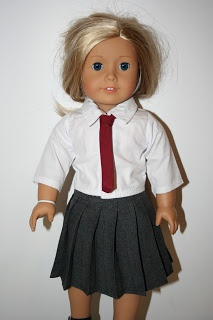 Arts and Crafts for your American Girl Doll: Harry Potter Tie for American Girl Doll