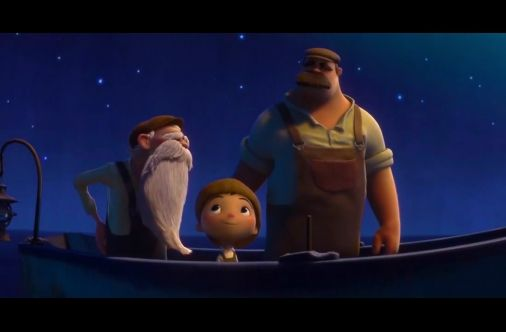 "La Luna, A Pixar Short Film. Directed by Italian filmmaker Enrico Casarosa, ""La Luna"" follows the story of a young boy as he begins work with his father and grandfather. The plot is inspired by Casarosa's childhood and tales by noted writers Antoine de Saint-Exupery and Italo Calvino."