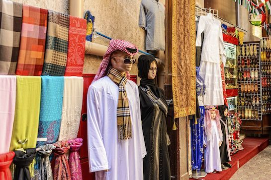 10 Must-Visits For Fashion People In Dubai #refinery29  http://www.refinery29.com/dubai-shopping-attractions#slide-5  Bur Dubai Souq When you're ready to shop like a local, head straight to the souq, or open-air market. Overwhelming in size, sound, and sights, Bur Dubai has all the vibrant textiles and hand-hammered metalworks you can fawn over. It's hard to navigate the winding alleyways, but if you can find Hindi Lane, it's worth the wandering — the narrow path is lined with garlan...