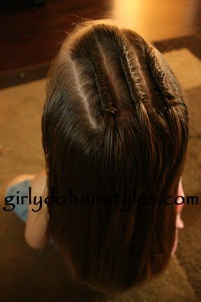 Girly Do Hairstyles: By Jenn: Securing a Single Twist