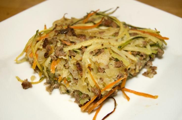 Paleo Casserole  (dinner 2/12/13)