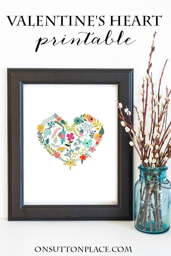 All Things Valentines | Love, hearts, sweets and more! | Decor, recipes, crafts and printables.