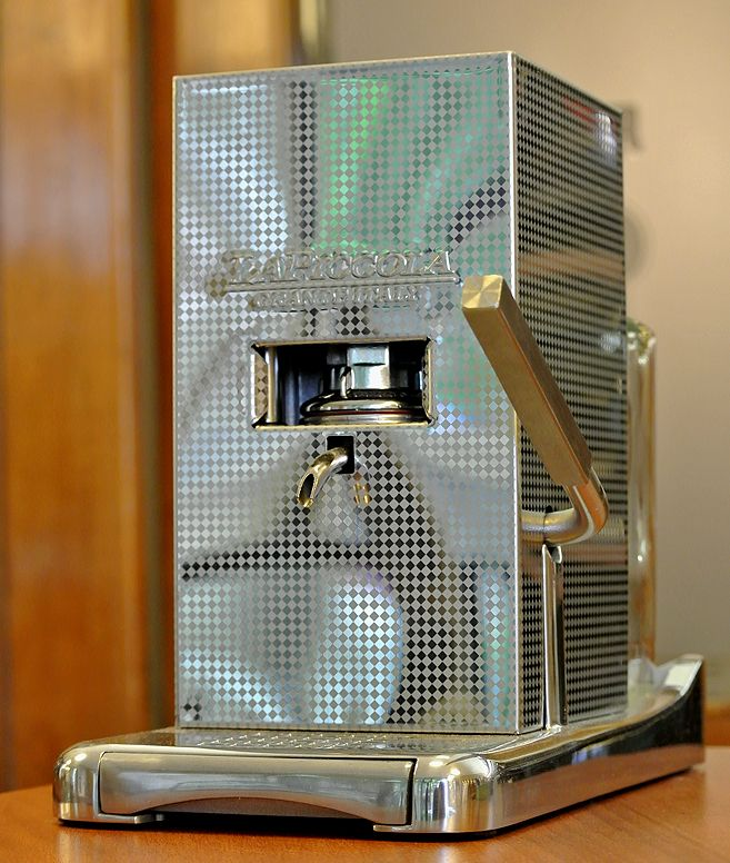 Schönbergers LaPiccola Perla (ESE Pad Kaffeemaschine)