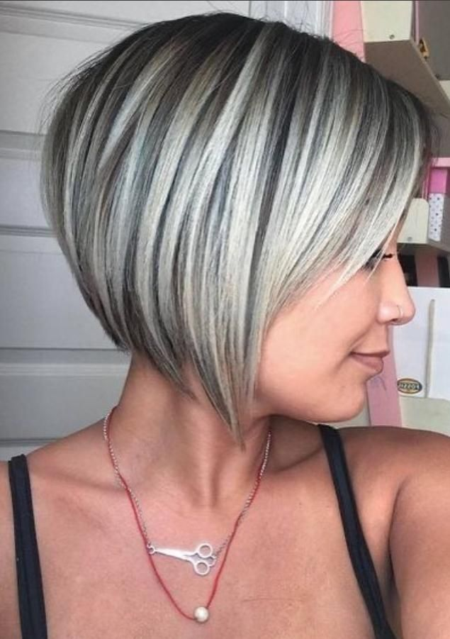 46 Best Short Bob Haircuts And Hairstyles For Women In 2020 Lily Fashion Style Bob Hairstyles For Fine Hair Bob Haircut For Fine Hair Haircuts For Fine Hair