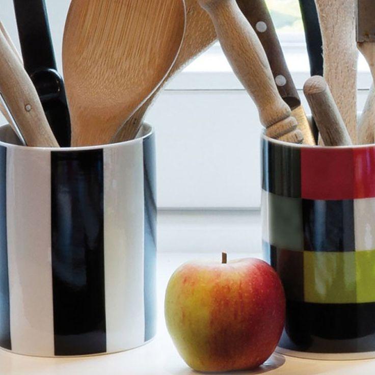 top3 by design - Remember - porcelain tin black + white