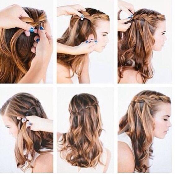 French Braid tutorial | Hairstyles... | Pinterest | French Braids ...: https://www.pinterest.com/pin/480970435176237089