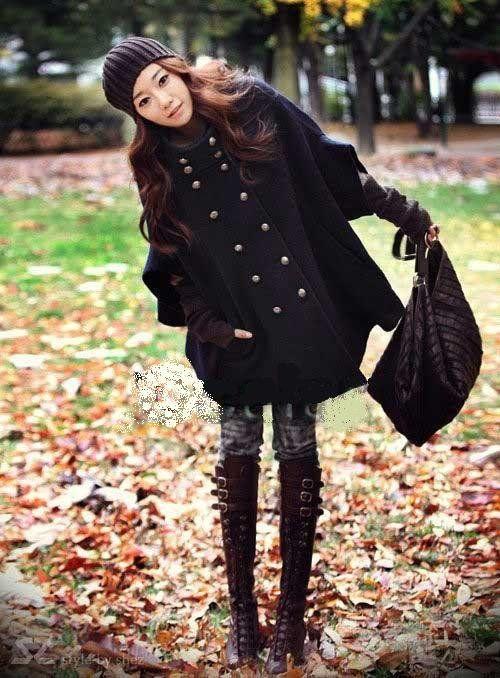 dames mamtels | Dames winter mantel, Poncho, herfst jas / voorjaars / zomer in between ...