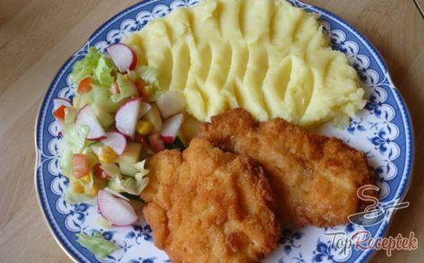 Rántott csirkemell sajtos panírban