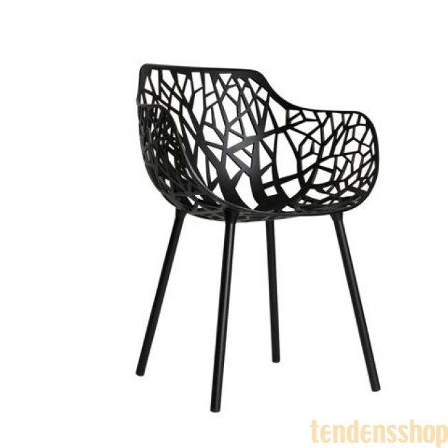 Ny serie italienske møbler i trykstøbt aluminium og med stærk appel til den designbevidste. #fast #design #havestole #forest