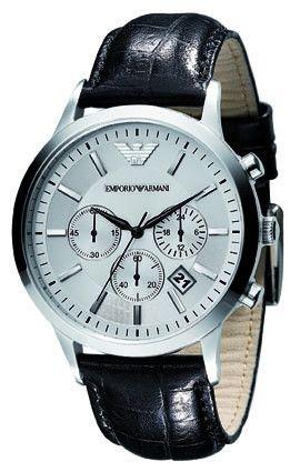Emporio Armani Renato Classic Silver Dial Watch AR2432 Campbell Jewellers Dublin Ireland