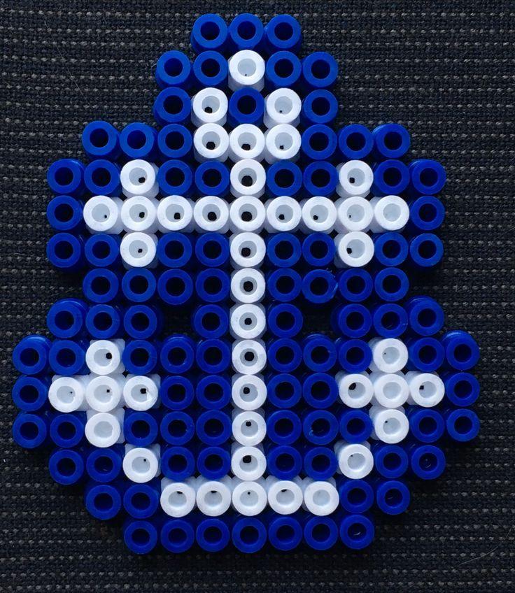 Pixel art d'une ancre