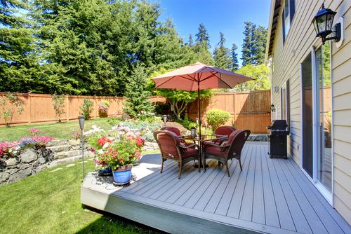 Give your garden a makeover #decking #fencing #gardening   http://jobearnshaw.co.uk/latest-news/give-your-garden-a-make-over-with-earnshaws-fencing-centres/