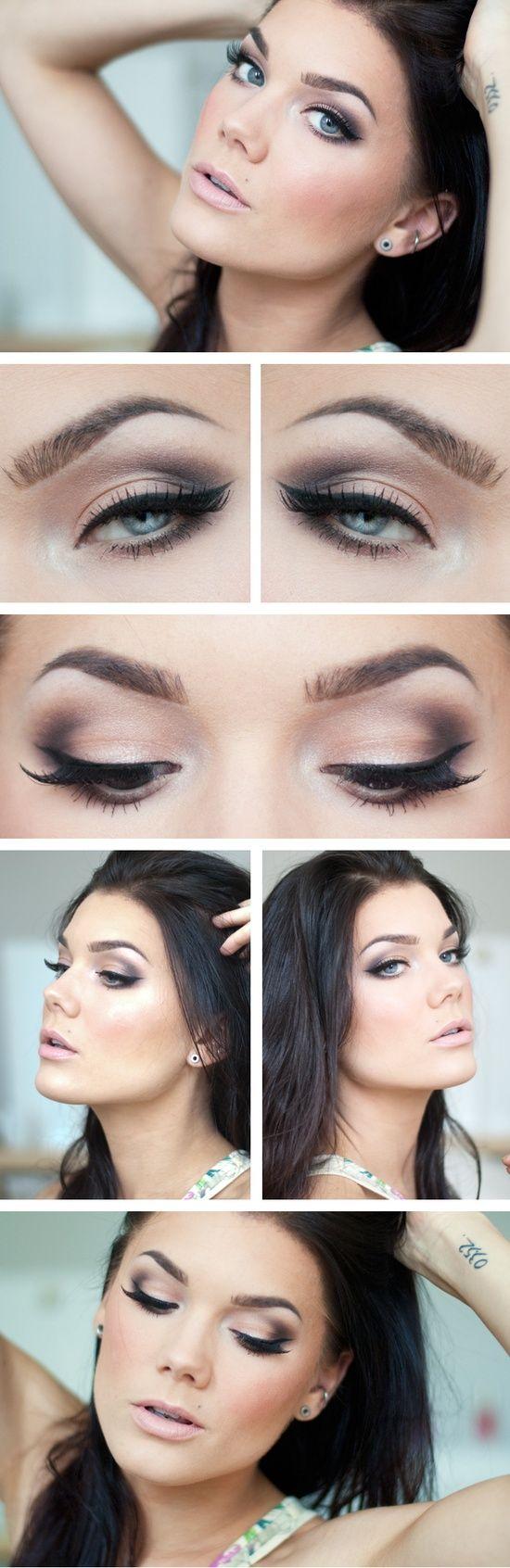 tutorial para uma maquiagem linda