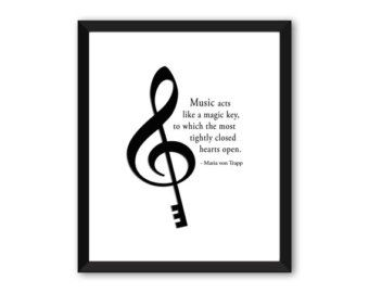 Plato Famous Music Quote Piano School Music by MusicArtandMore