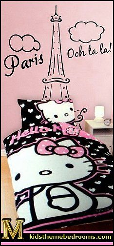 Decorating theme bedrooms - Maries Manor: Hello Kitty bedroom ideas - Hello Kitty bedroom decor