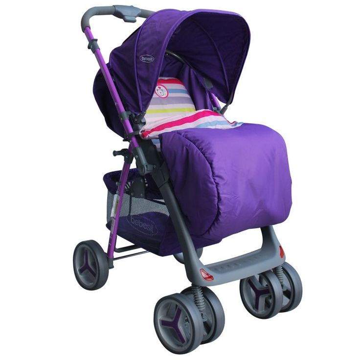 Coche Reversible Bebesit Zap-Púrpura