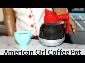 How to make an American Girl Diner Table ~ Part 5 ~ - YouTube