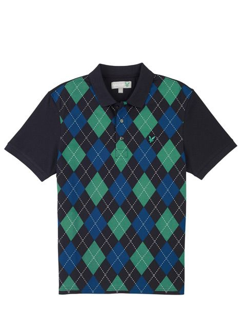 Lyle and Scott Lyle & Scott Polo Shirt in Argyle