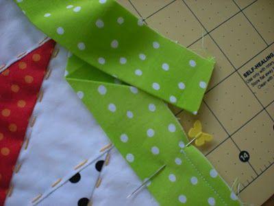 Molly Flanders Makerie: A Tutorial: French Binding...Ooh,la,la!