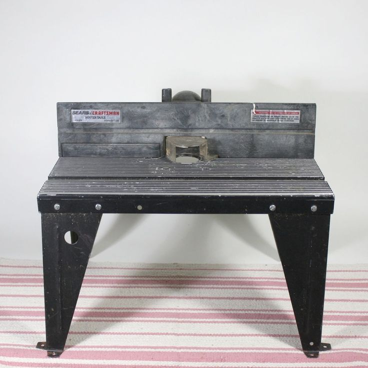 Craftsman Router Table Steel Construction Black USA Made Model 925479 #Craftsman