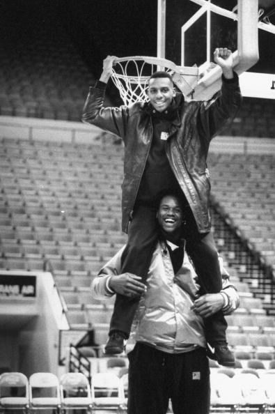 Penny Hardaway and Shaquille O'Neal