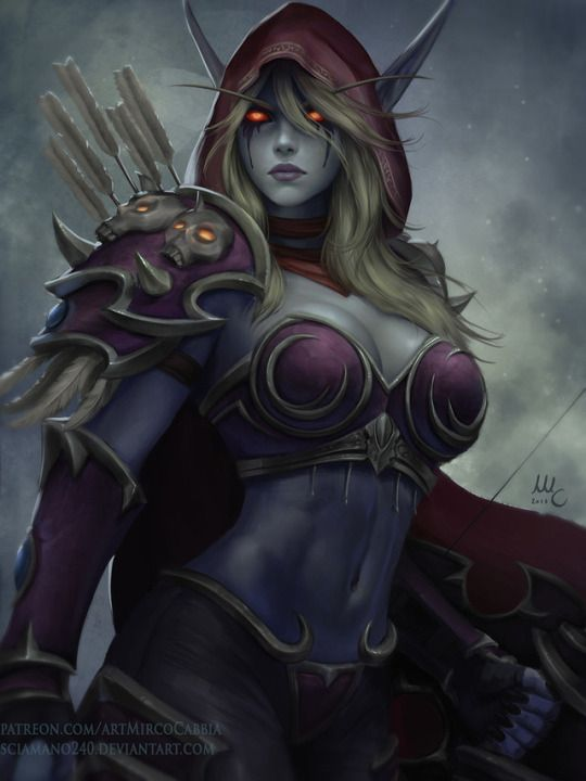 Sexy sylvanas Why is