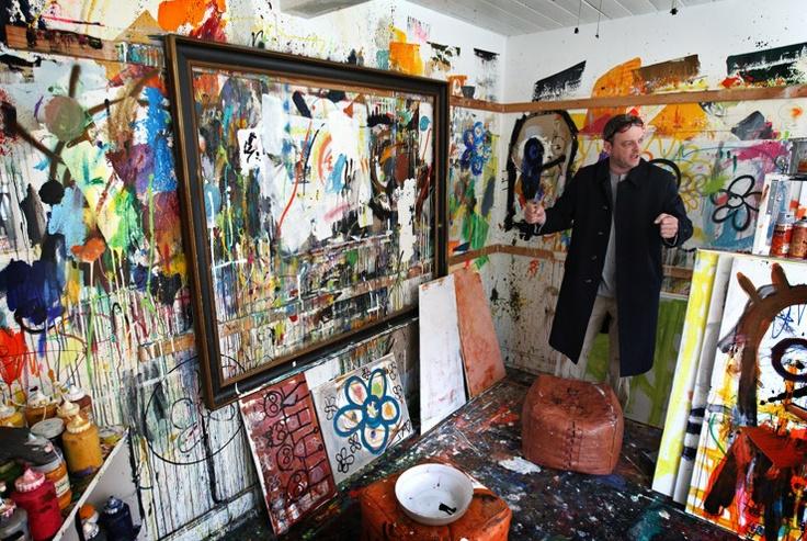 Poul Pava atelier
