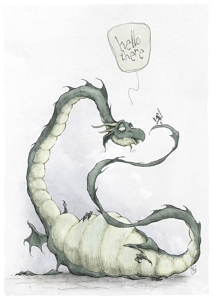 Dragon by Ripplen.deviantart.com on @deviantART