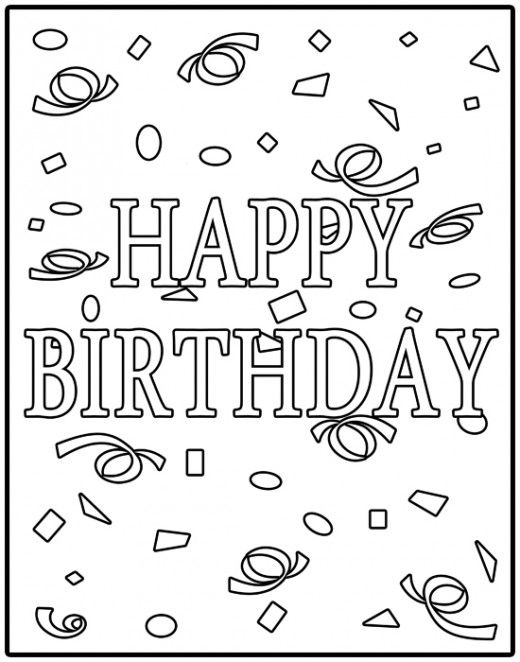 birthday banner coloring page images google search birthday bannersbirthday wishesbirthday
