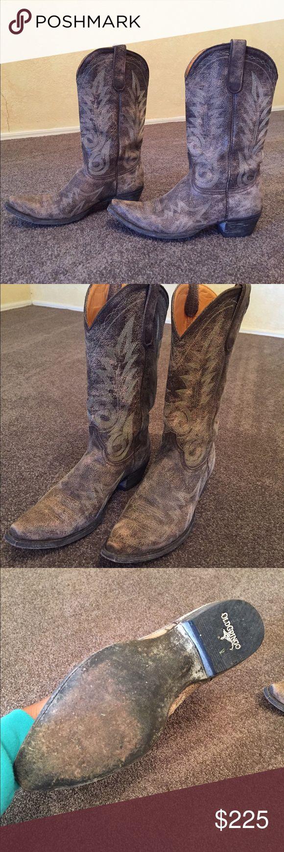 Spotted while shopping on Poshmark: Old Gringo Distressed Nevada Boots! #poshmark #fashion #shopping #style #Old Gringo #Shoes