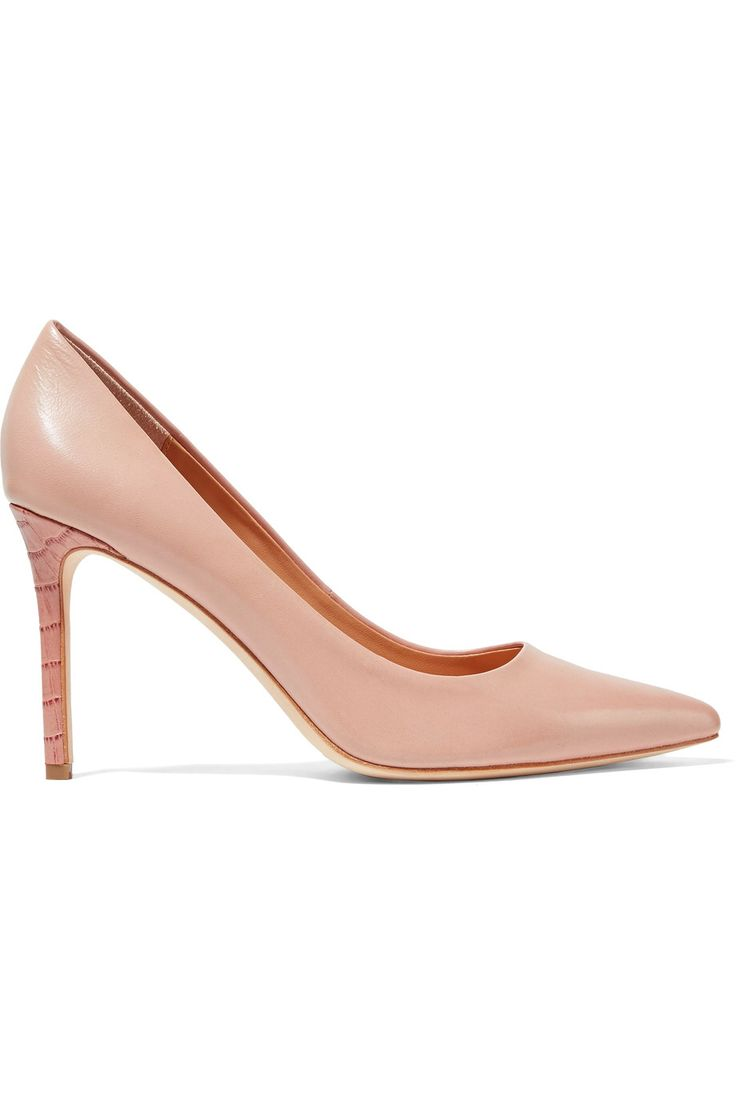 HALSTON HERITAGE COURTNEY LEATHER PUMPS GBP115 http://www.theoutnet.com/product/836856